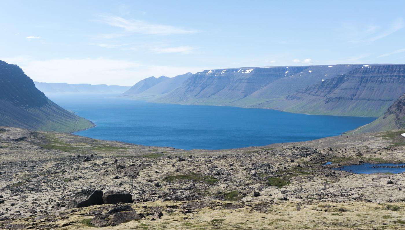 Vue sur fjord - Fjords de l'Ouest - Islande - guide ultime de l'Islande