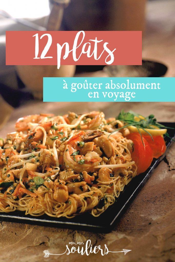 12 plats à goûter en voyage