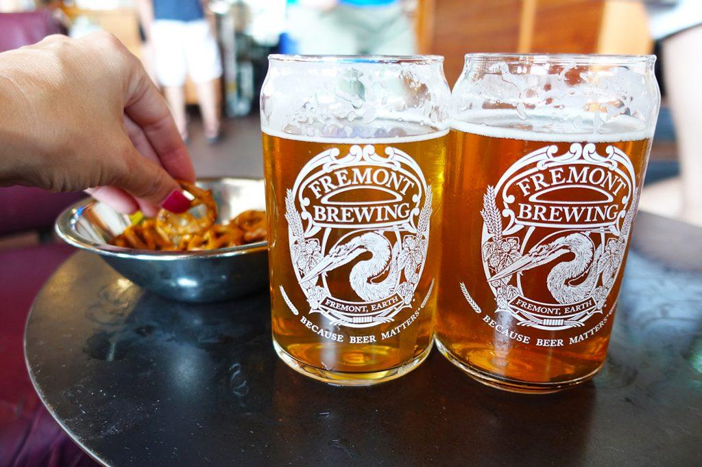 Bières du Fremont Brewing - Quoi boire à Seattle