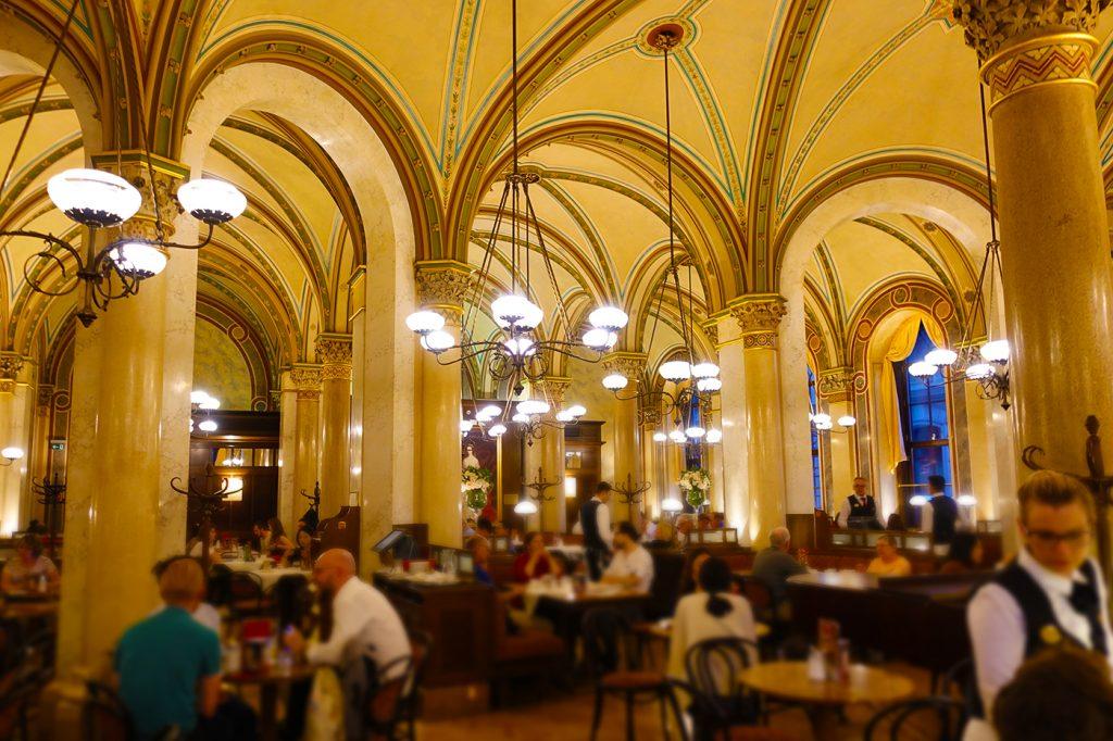 Café Central de Vienne