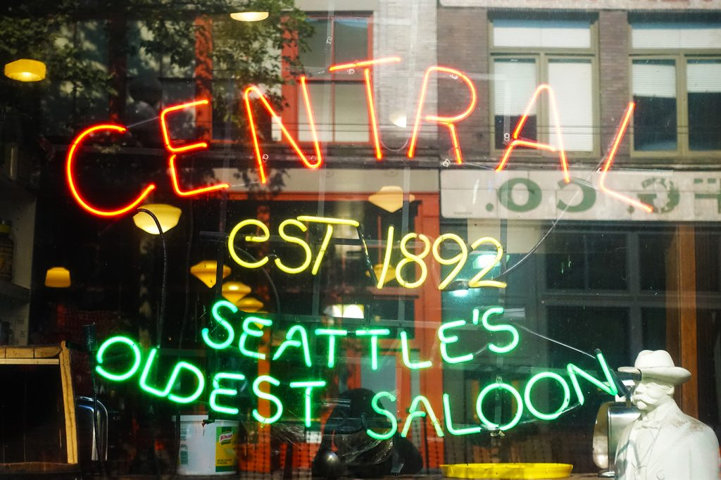 Central Saloon, le plus vieux saloon de Seattle