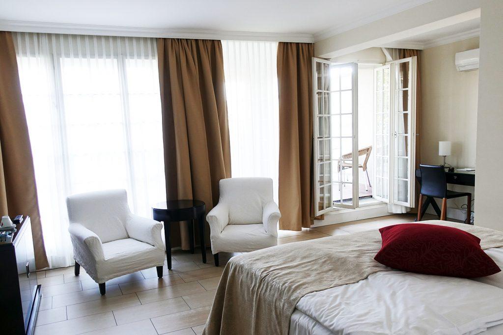 Chambre d'hôtel du Spiess à Vienne en Autriche
