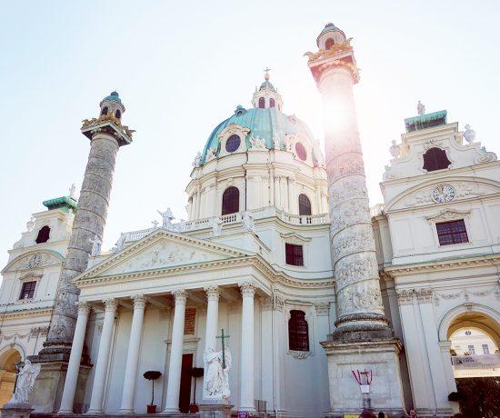 Église Karlskirche de Vienne