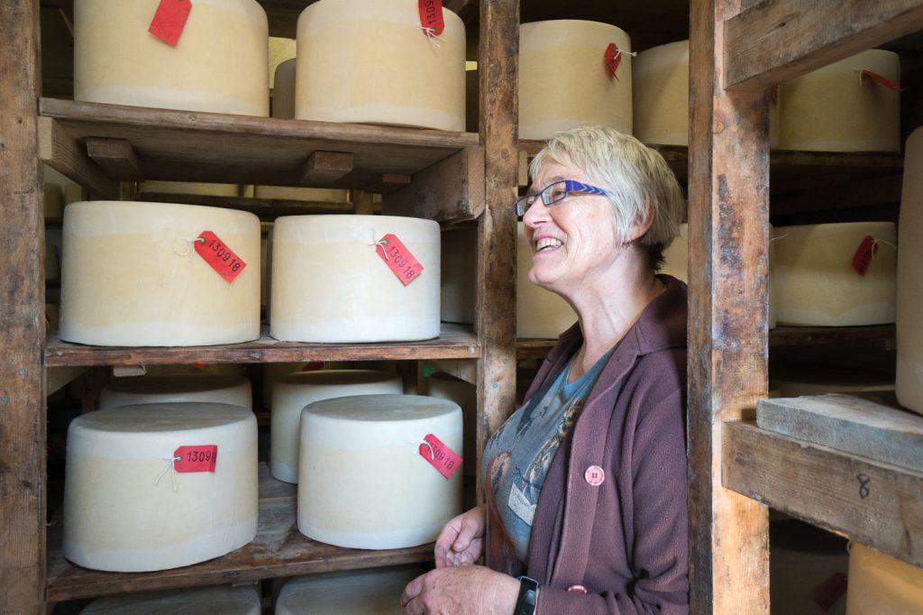 Mary dans les meules de fromage cheddar - Quoi faire à Exeter