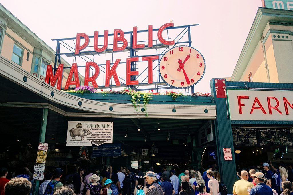 Pike Place Public Market - Seattle, États-Unis