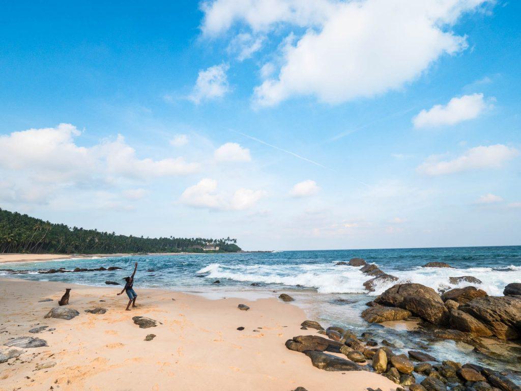 Tangalle, Silent Beach au Sri Lanka