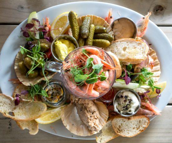Assiette de fruits de mer - Exeter