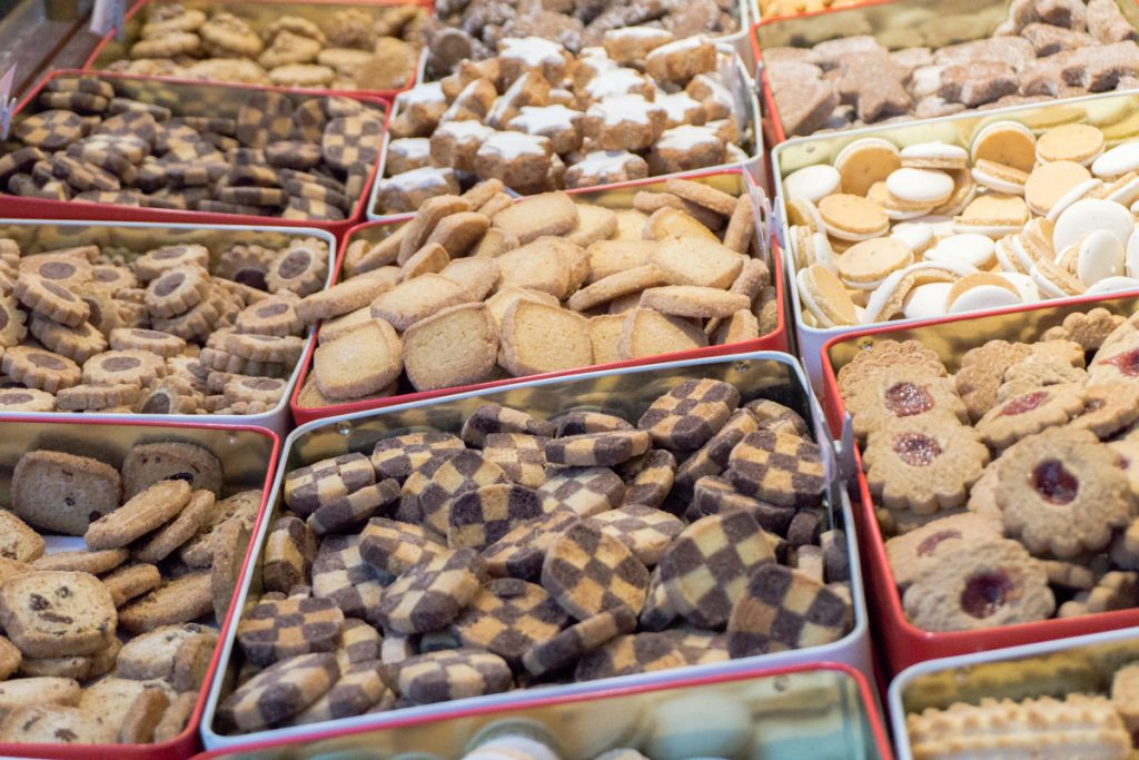 Biscuits de Noël à goûter dans les marchés de Noël