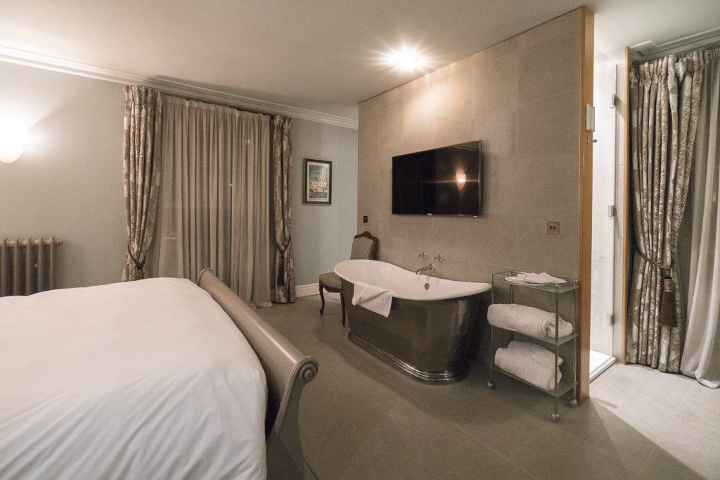 Chambre à louer au Southernhay House où dormir à Exeter en Angleterre au Royaume-Uni