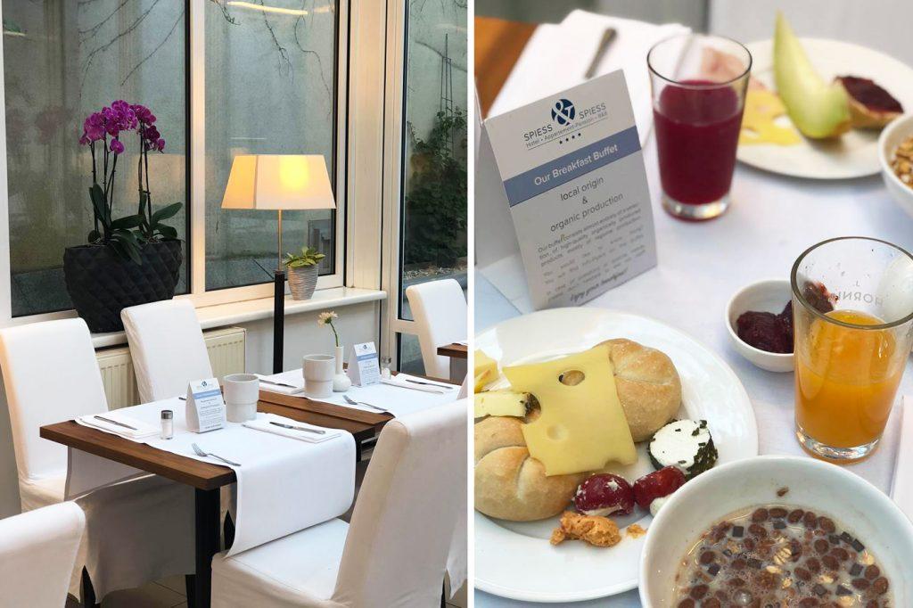Déjeuner au Spiess Hotel