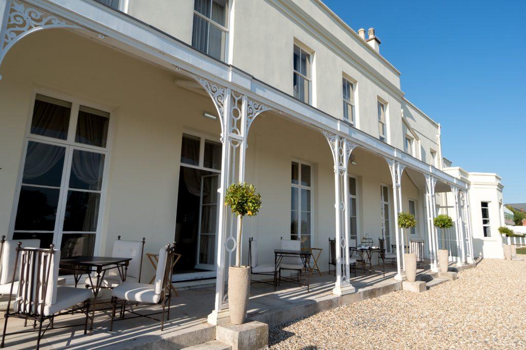 Extérieur du Lympstone Manor Exmouth/Exeter