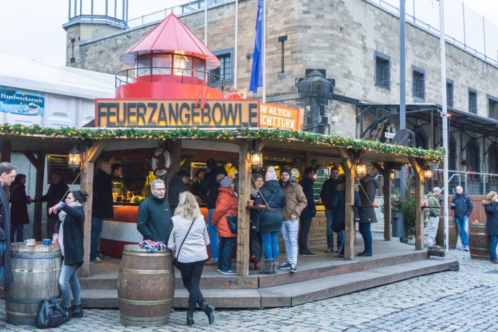 Kiosque de Feuerzangebowle - Voyage à Cologne, Allemagne