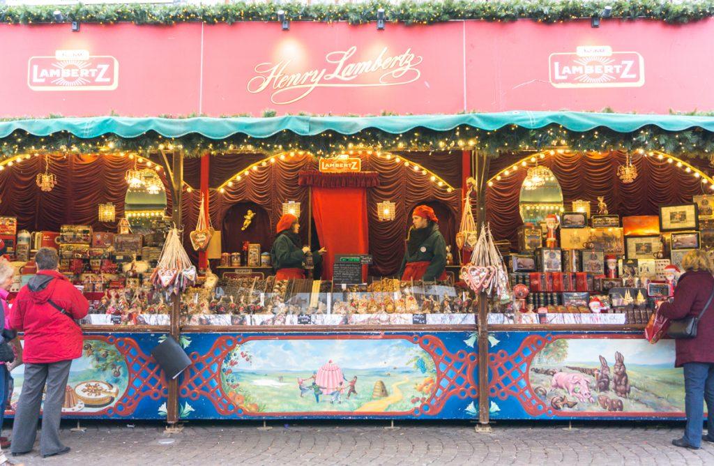 Kiosque de Weihnachtsmarkt - Biscuits et confiseries Lambertz