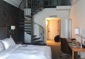 Ma chambre avec mezzanine au Château Bromont des Cantons-de-l'Est, Québec