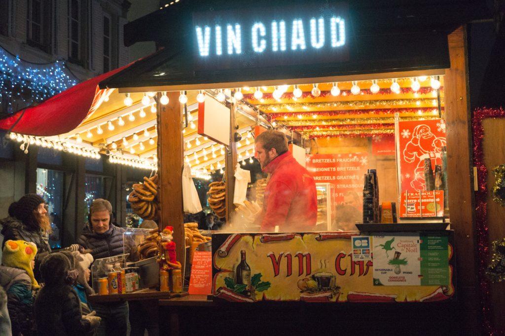 Quoi boire dans les marchés de Noël - Kiosque de vin chaud