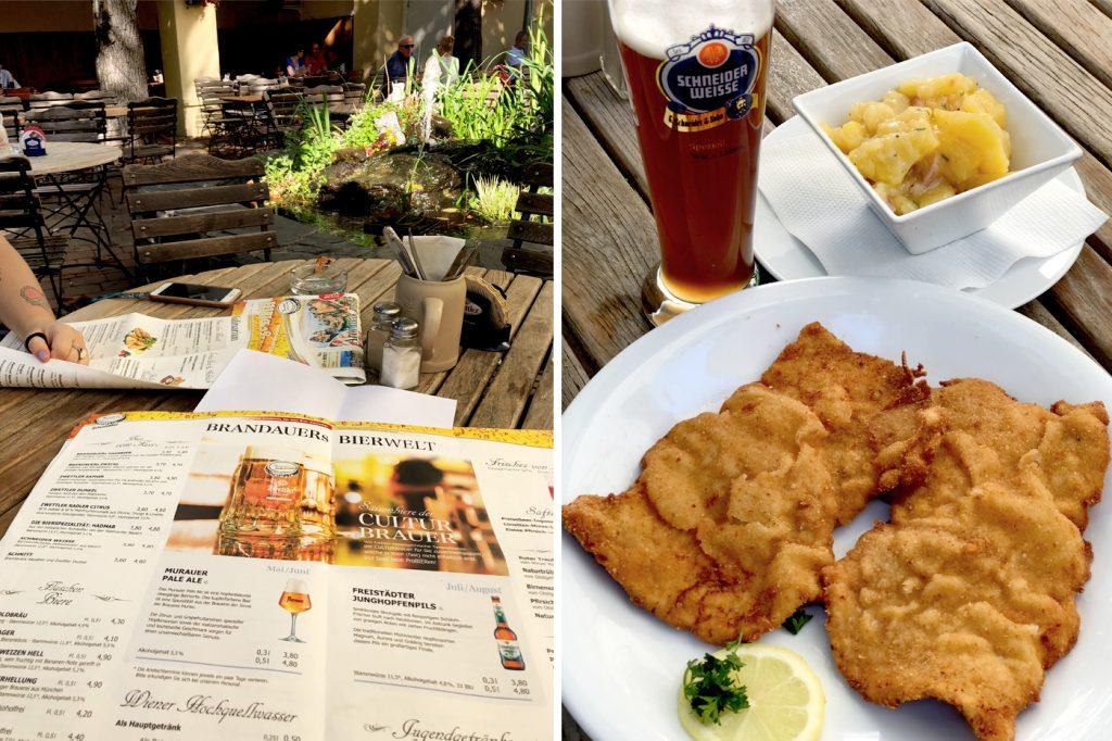 Quoi manger à Vienne - Schnitzel en Autriche