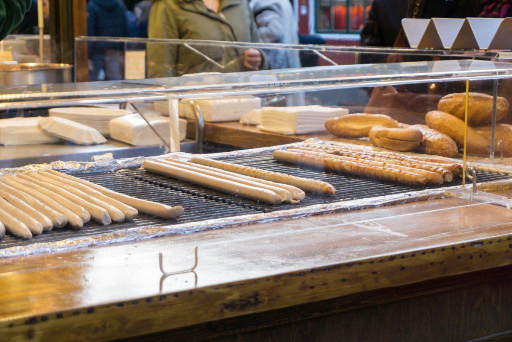 Quoi manger dans les marchés de Noël en Europe, Allemagne et France