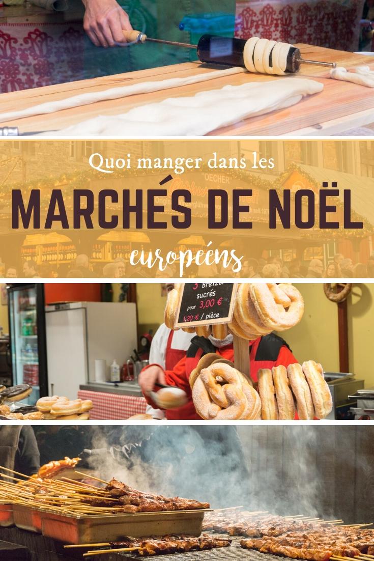 Coups de coeur – Quoi manger dans les marchés de Noël européens