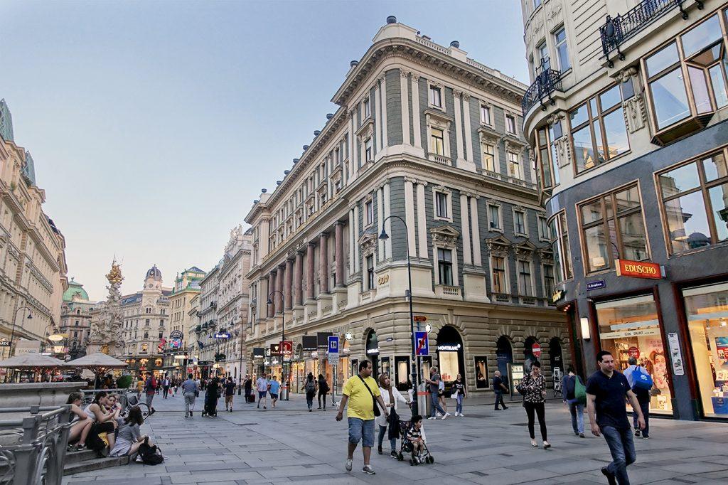 Rue principale de la vieille ville de Vienne
