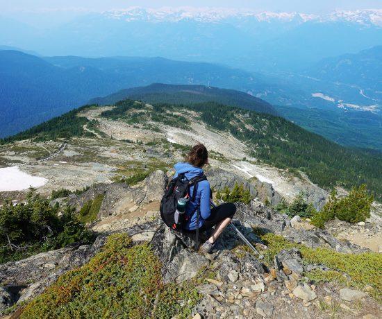 Sentier de randonnée High Note de Whistler Canada