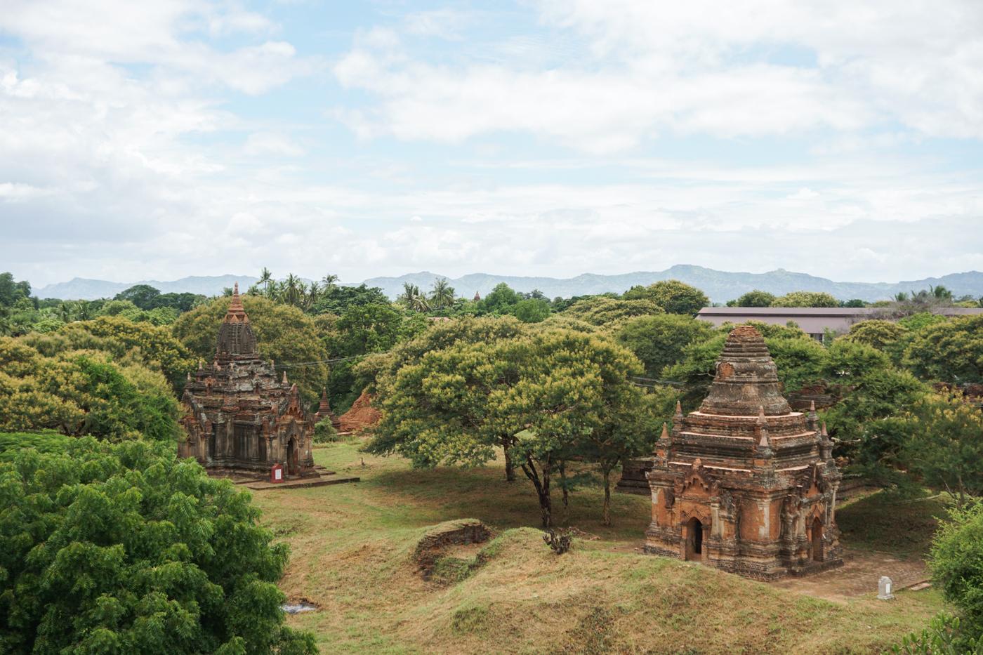 Voyage en Birmanie / Myanmar à Bagan à visiter absolument un jour