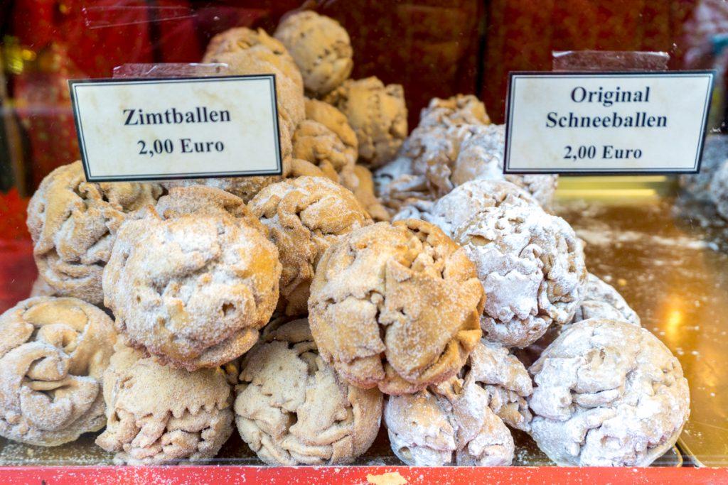 Zimtballen et Schneeballen - Boules à la cannelle