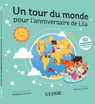 Lulu et lila - Un tour du monde