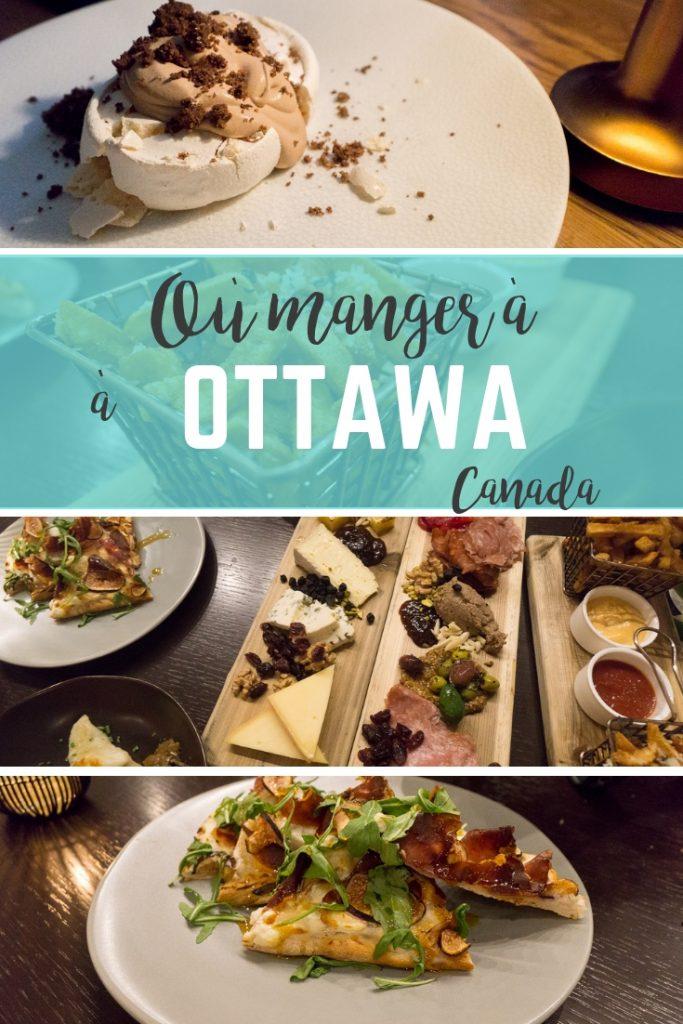 Où manger à Ottawa, Canada