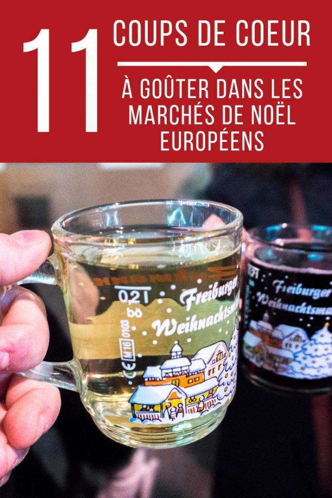 Quoi goûter dans les marchés de Noël en Europe