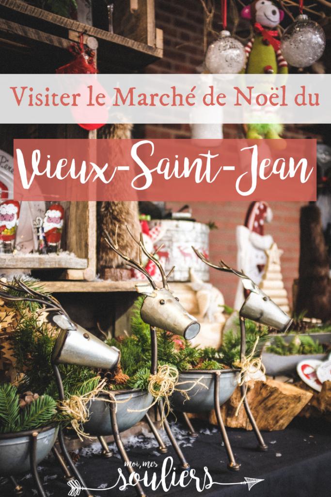 Visite du marché de Noël du Vieux-Saint-Jean - Quoi faire en Montérégie, Québec, Canada
