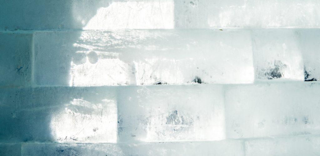 Briques de glace à l'hôtel
