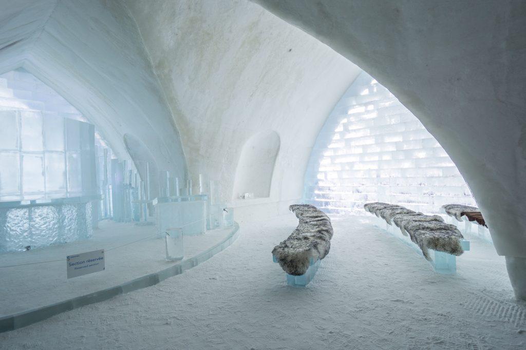 Chapelle de glace - quoi faire à Québec en hiver