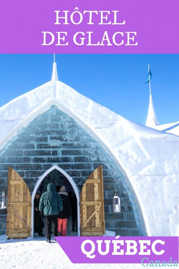 Où dormir - Hôtel de glace de Québec
