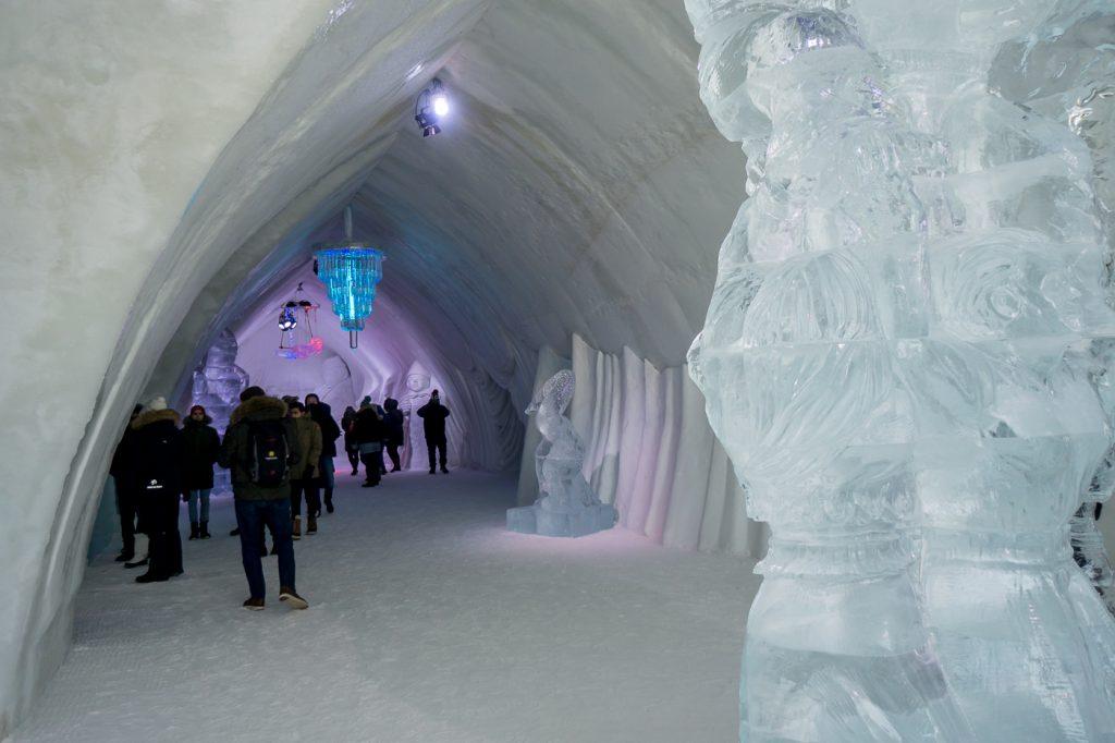sculptures de glace de Québec - Quoi faire en hiver au Canada