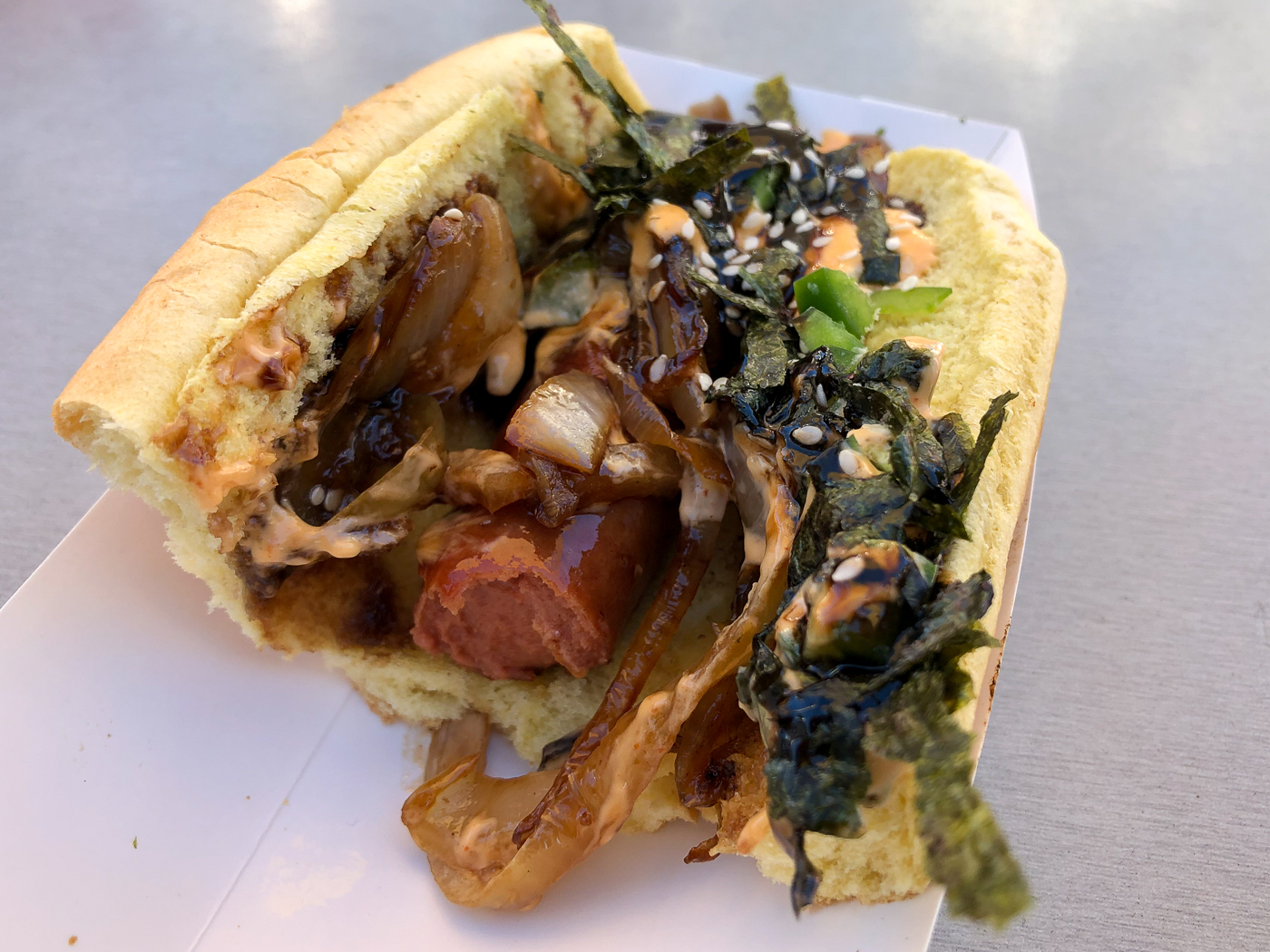 Cheffini's Hot Dogs au Downtown Container Park