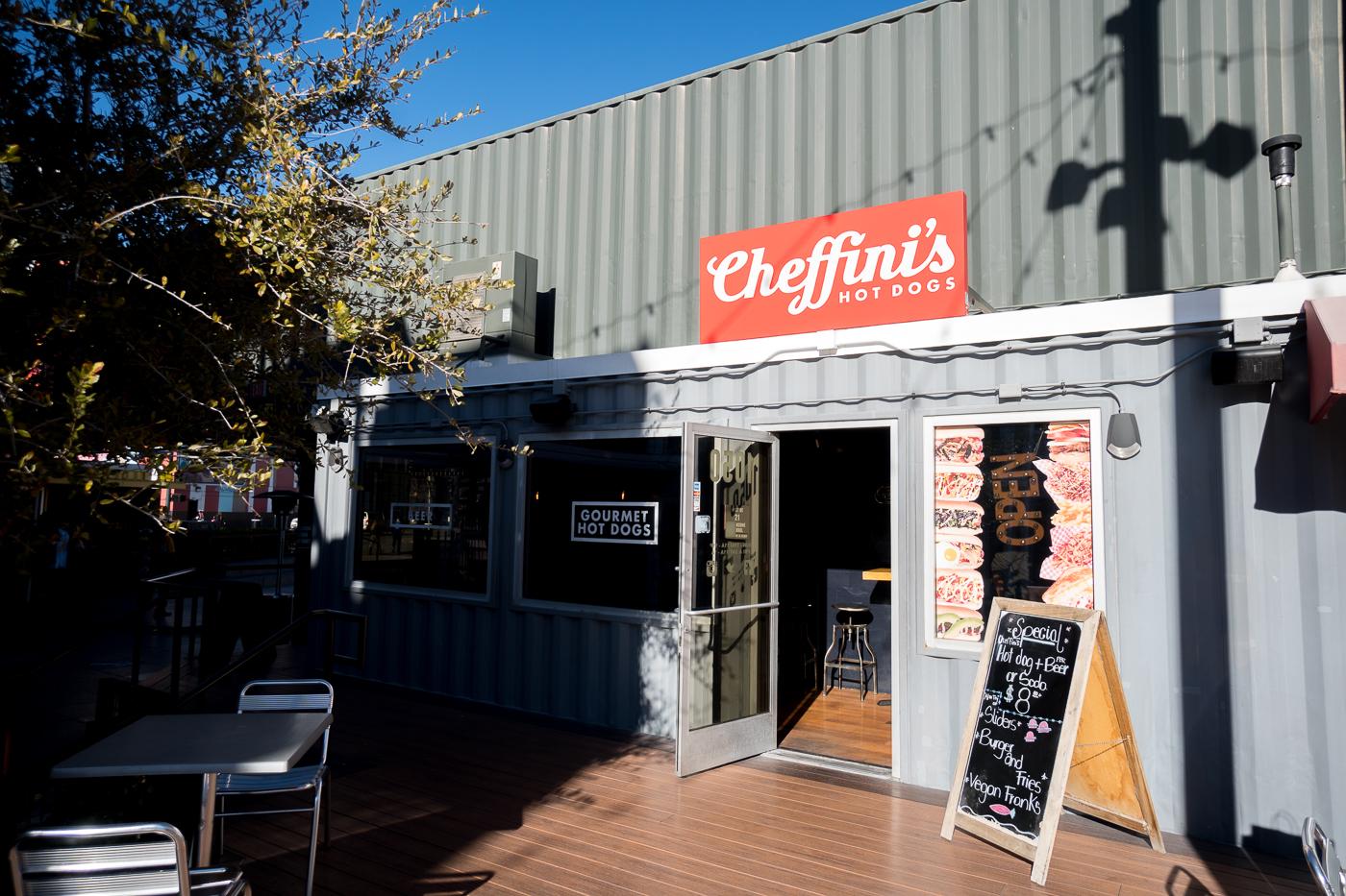Cheffini's Hot Dogs où manger à Downtown Las Vegas