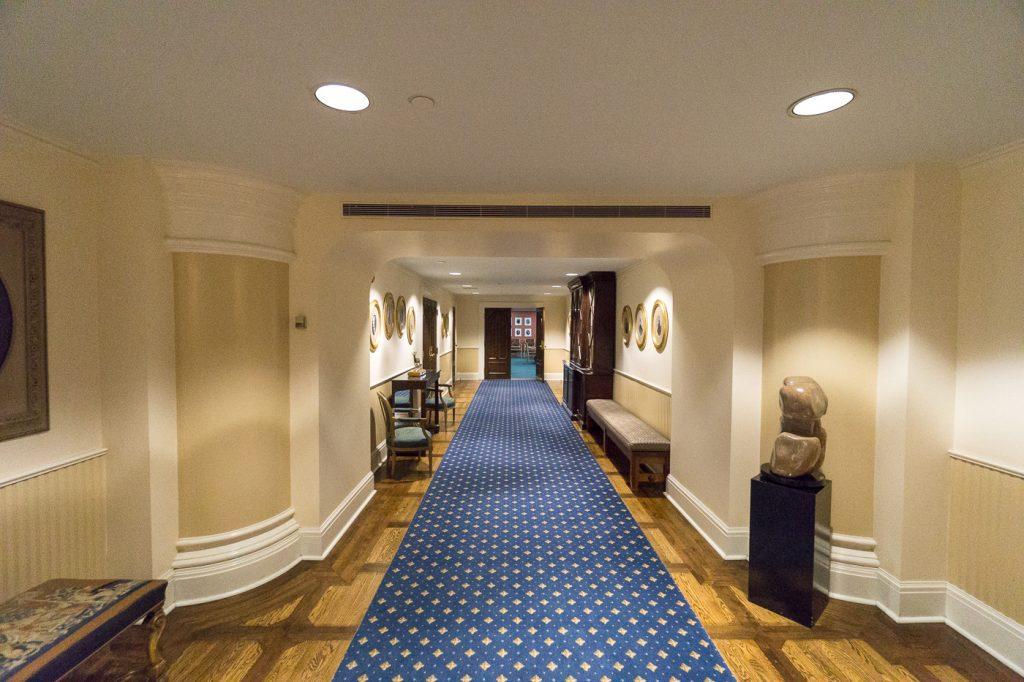 Couloir de Rideau Hall, Ottawa, Canada