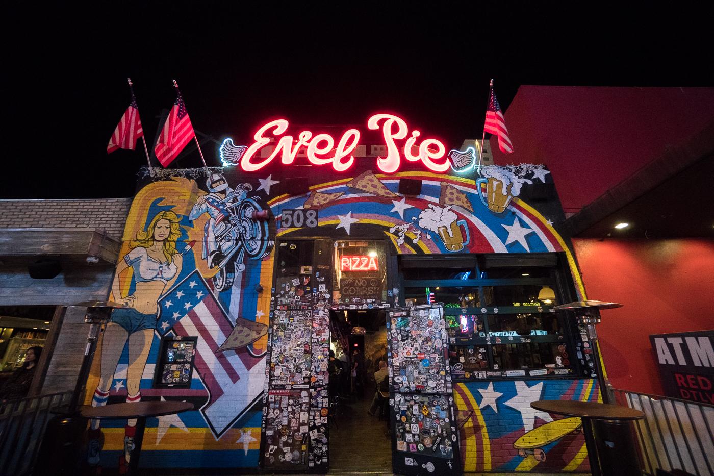 Evel Pie où manger pas cher à Las Vegas