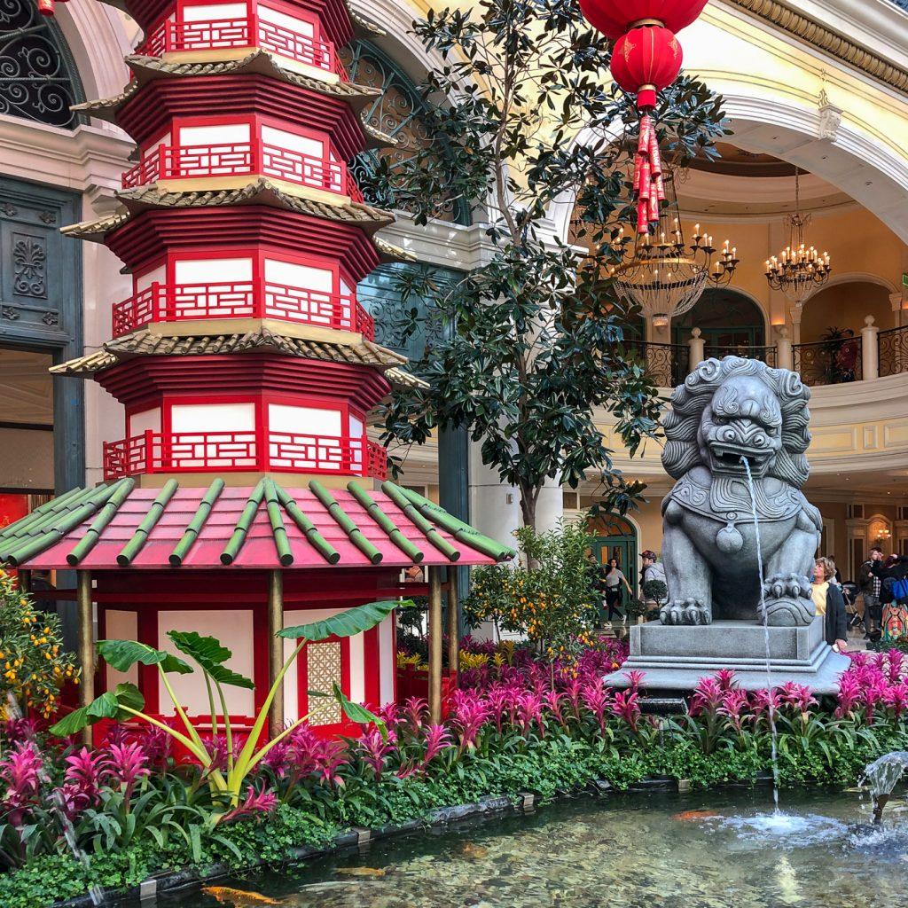 Jardins du Bellagio Gardens Conservatory