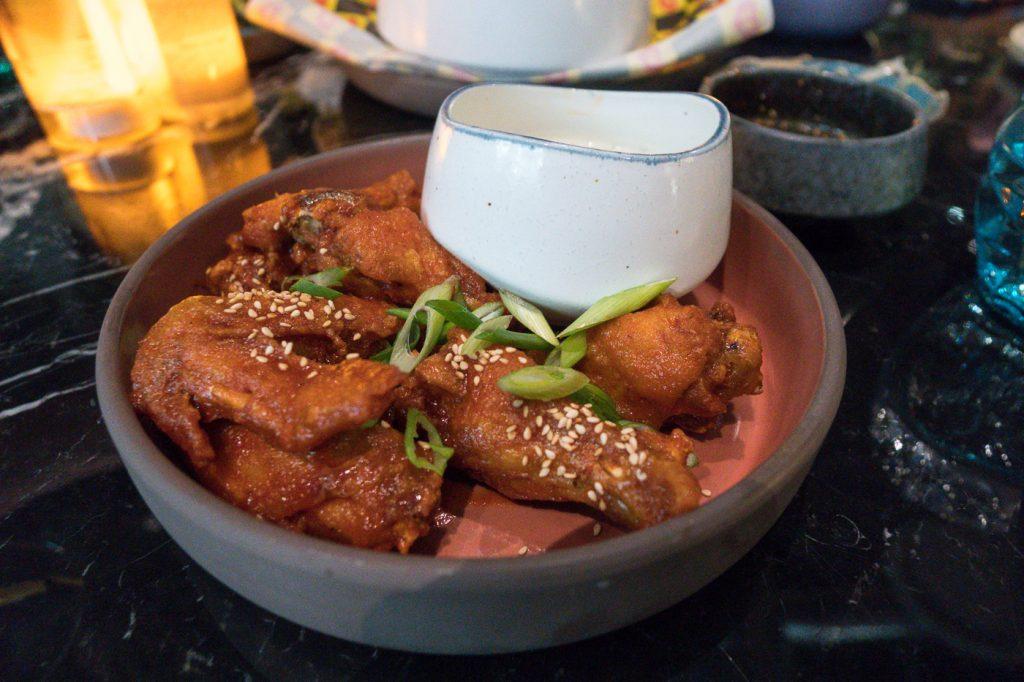 ailes de poulet du Best Friend, où manger à Las Vegas