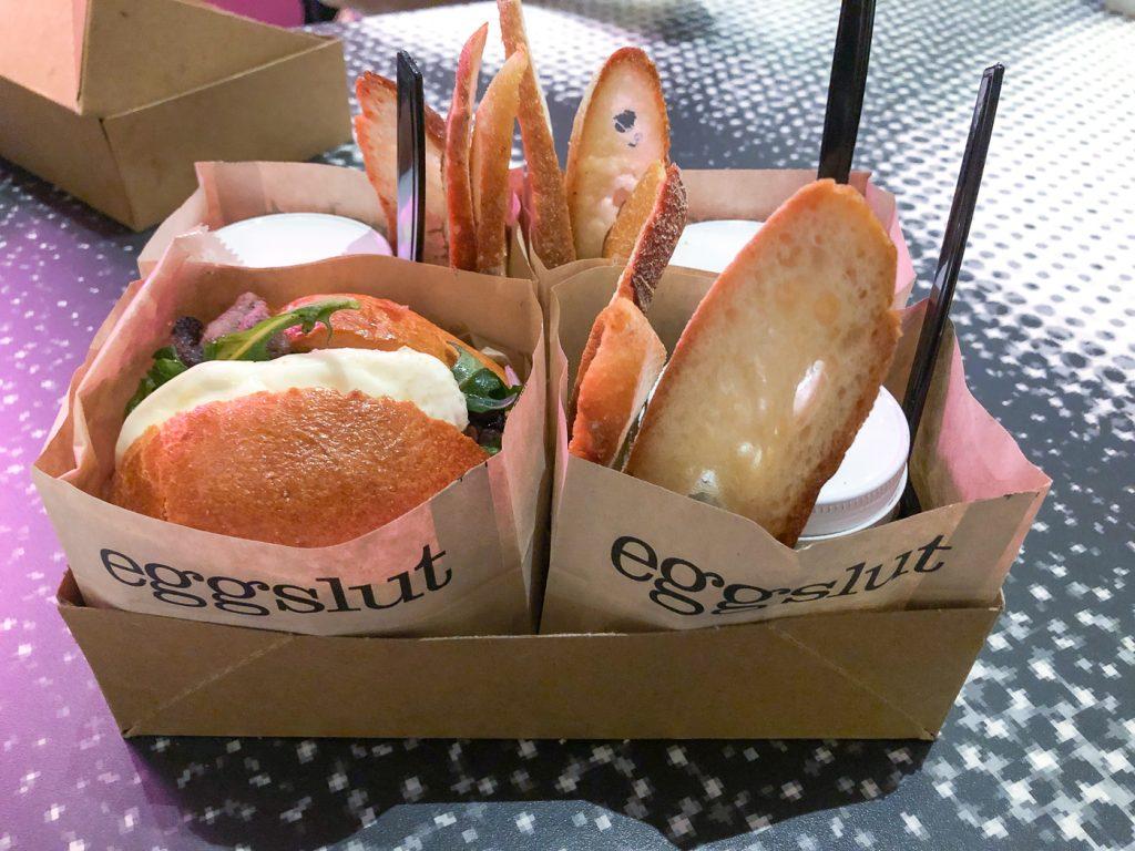 Brunch au Eggslut où déjeuner à Las Vegas