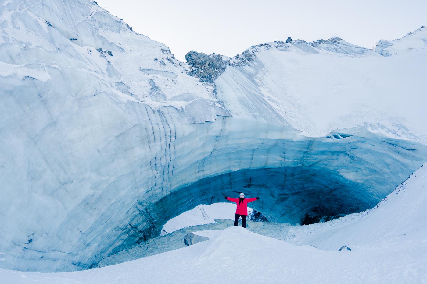 Incontournable d'un voyage au Yukon, grotte de glace Haines Junction