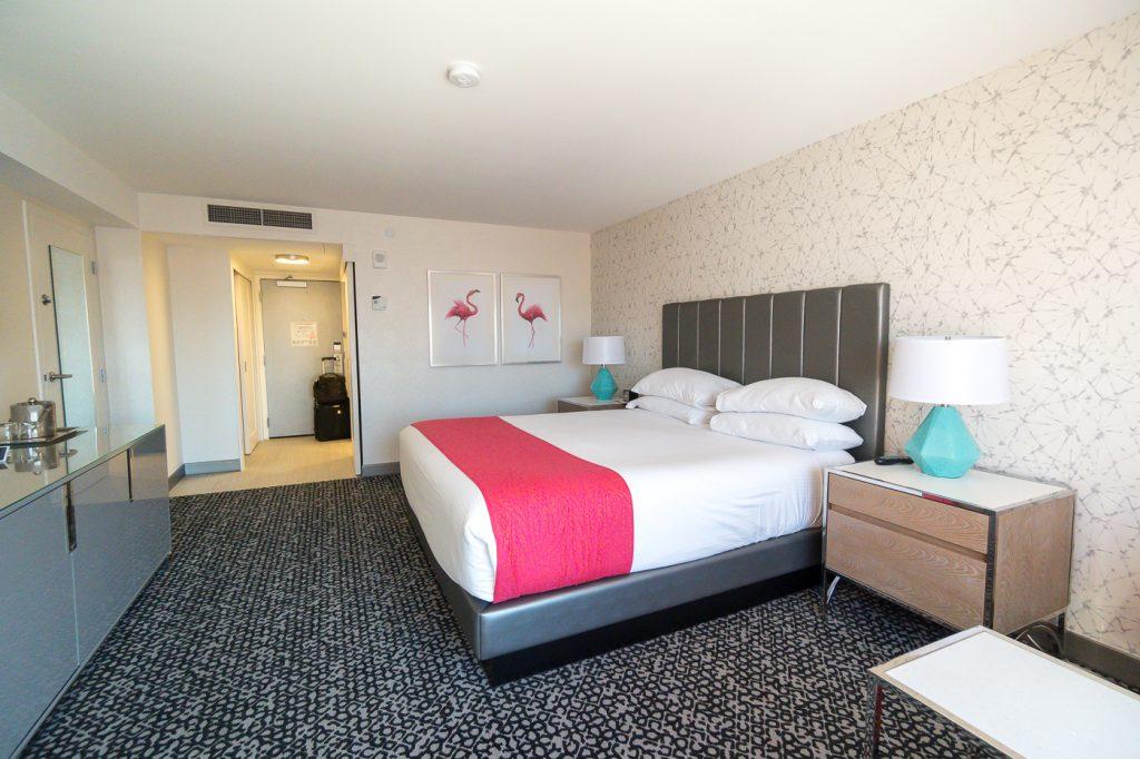 Ma chambre au Hotel Flamingo Las Vegas où dormir à petit budget