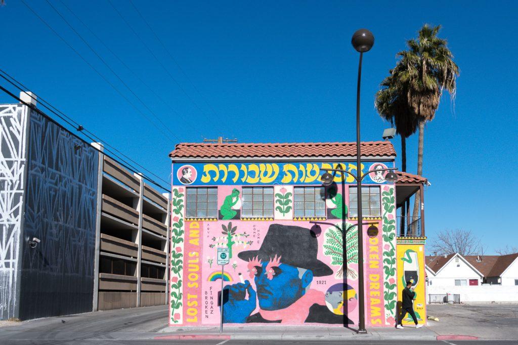 Murale d'art de rue de Downtown Las Vegas - Fremont