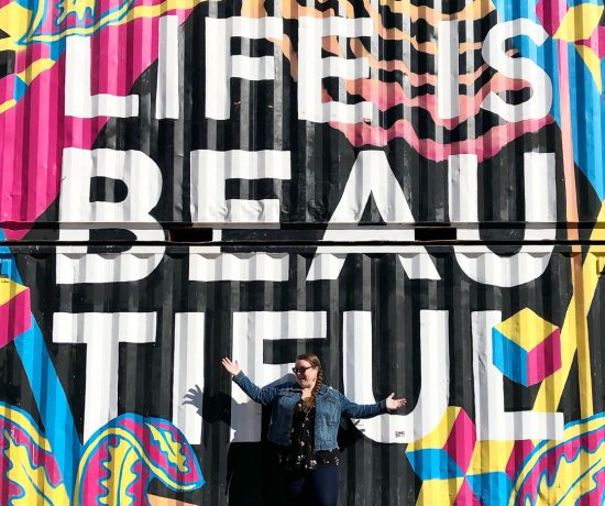 Murale Life is Beautiful de Downtown Las Vegas