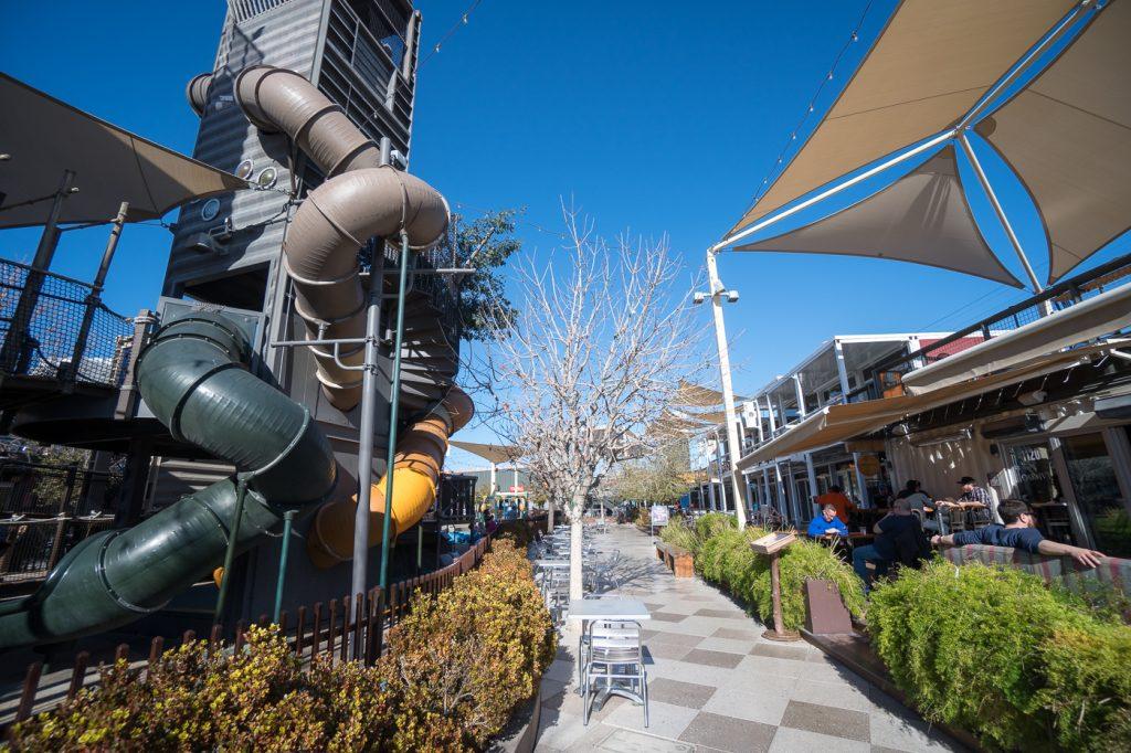Où manger à petit prix - Downtown Container Park