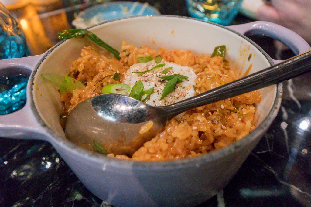 riz coréen et oeuf au resto Best Friend de Las Vegas