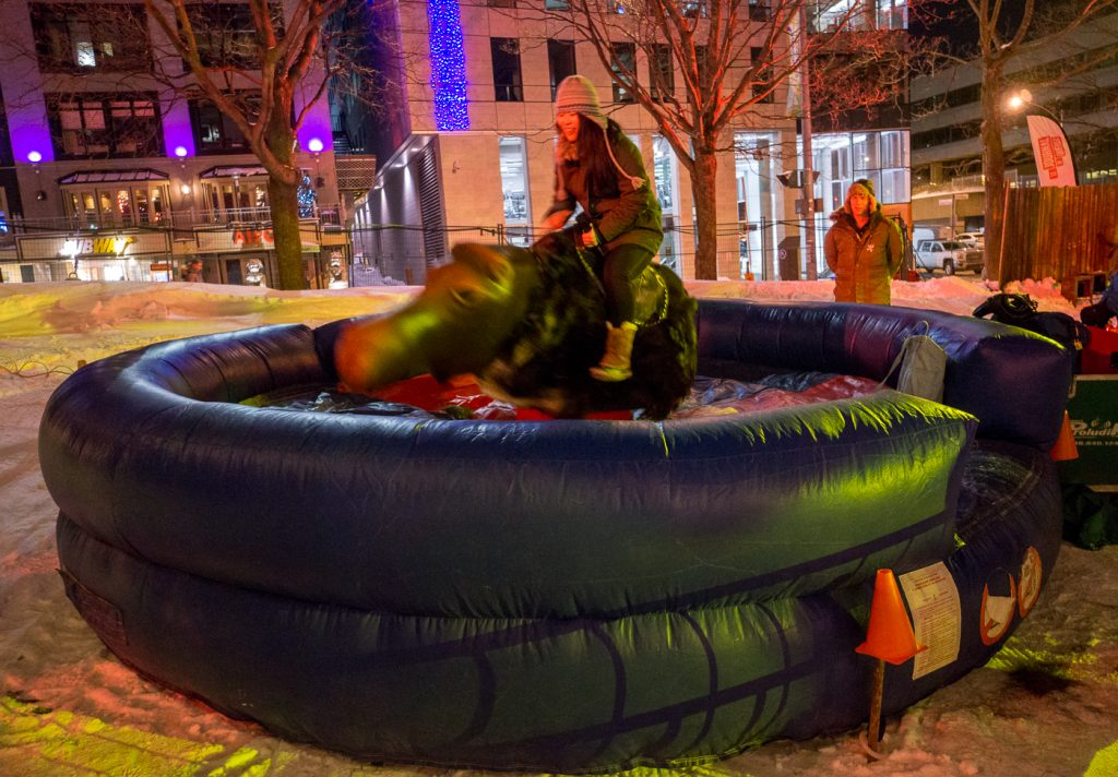 Rodéo sur orignal - Carnaval de Québec
