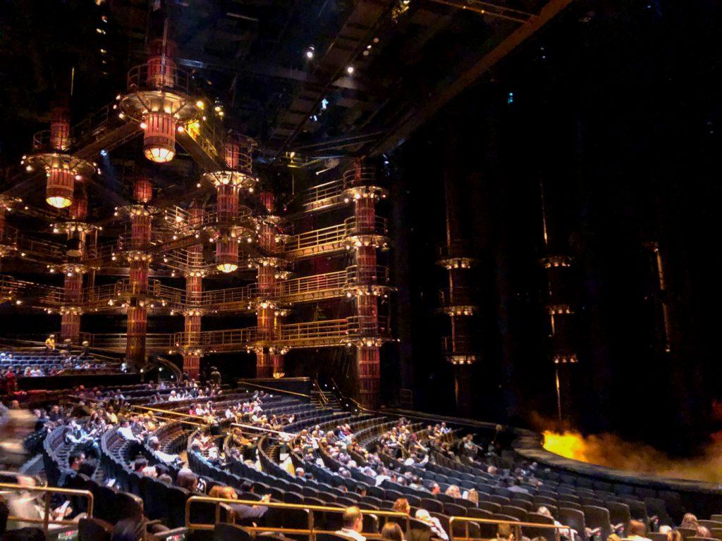 Spectacle Ka du Cirque du Soleil à Las Vegas