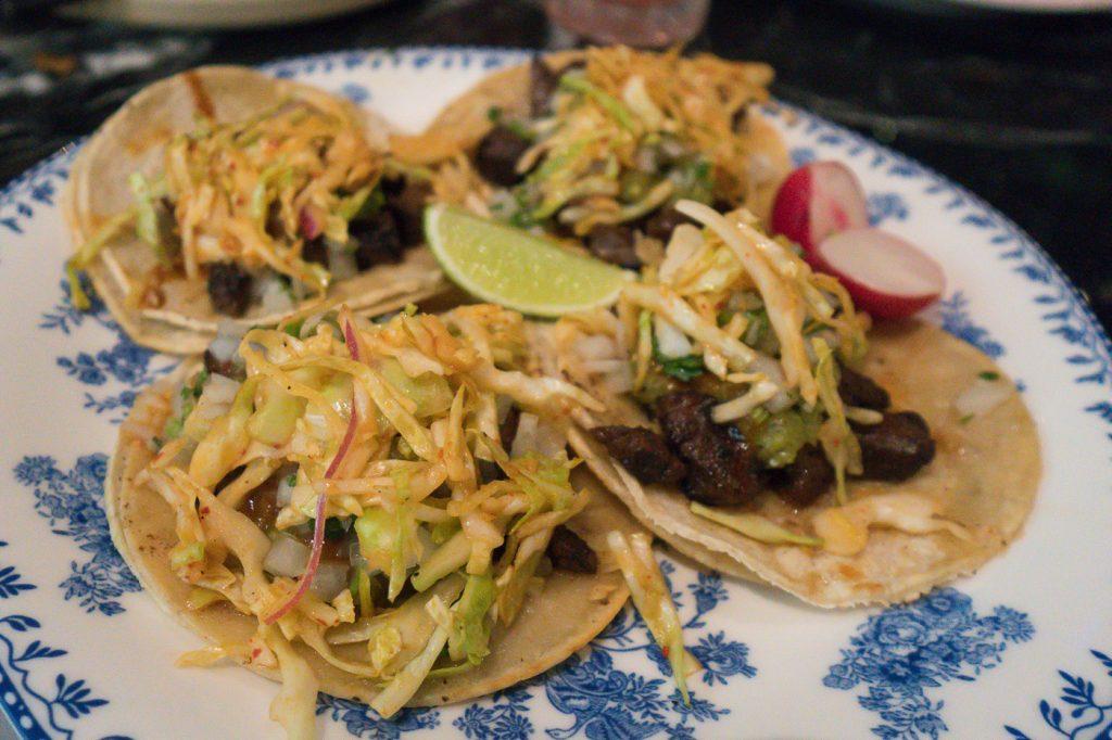 Tacos coréens au Best Friend de Las Vegas